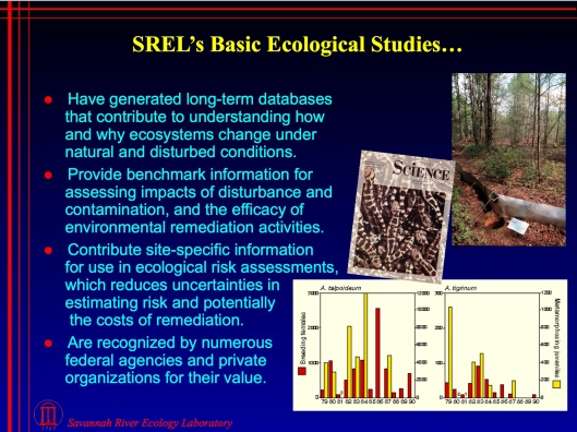 SREL reduce costs of remediation