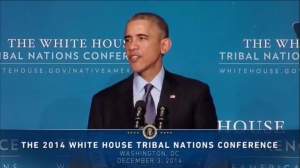 Obama Tribal Nations Conference Dec. 2014