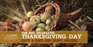 NRC Thanksgiving