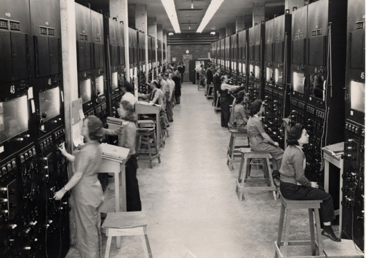 Y12 Calutron Operators ca 1944 Oak Ridge TN