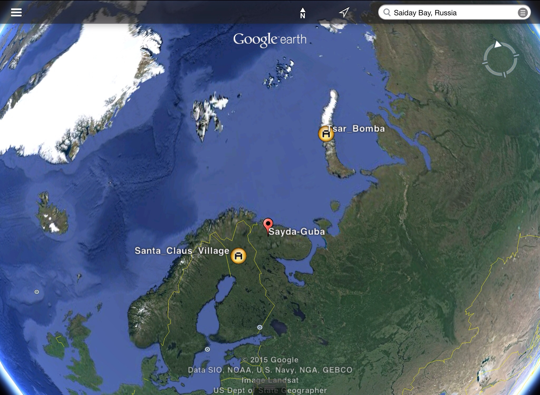 Did russia nuke santa and his reindeer the arctic still for Site de location