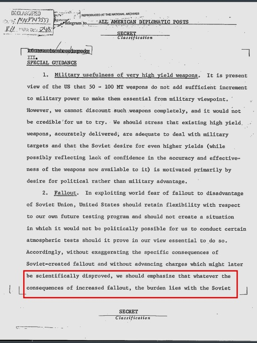 US State Dept notice re pending Tsar Bomba 18 Oct. 1961, p. 4