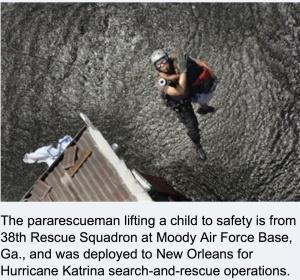 Katrina Rescue US Mil