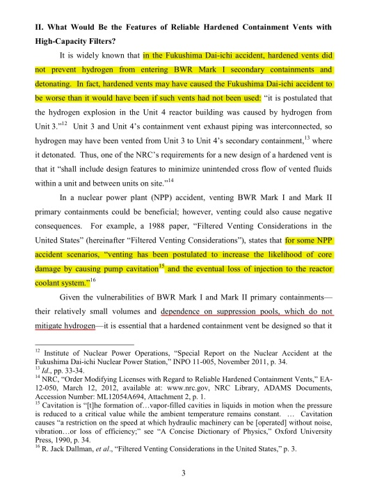 "p.3 ""Post-Fukushima Hardened Vents with High-Capacity Filters for BWR Mark Is and Mark IIs "" By Mark Leyse, NRDC, July 2012, submitted to the US NRC:  ML1225/ML12254A865"