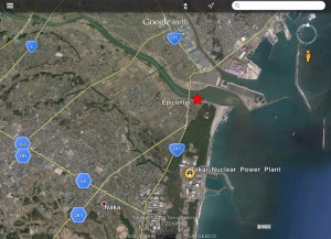 USGS 4.2 Magnitude earthquake near Japan Nuclear Facilities 15 Jan 2016
