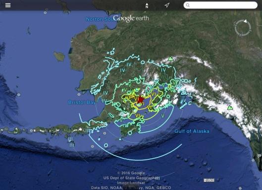 Alaska 7.1 earthquake