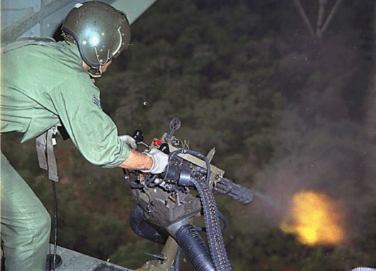 US Air Force M134 Minigun