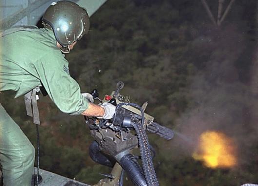 US Air Force M134 Minigun