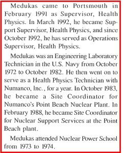Gary Medukas bio from Martin Marietta
