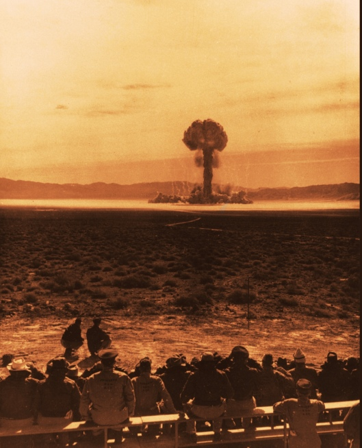 Los Alamos National [Nuclear] Laboratory, UPSHOT KNOTHOLE Grable with Atomic Vets
