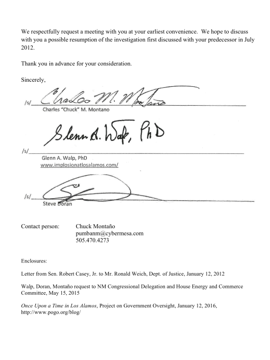 Feb. 2 Letter to US Atty re LANL suicide corruption, p. 3