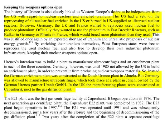 URENCO Greenpeace 2004 p. 21 excerpt