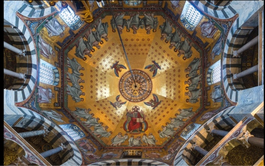 Dome of Palatine Chapel Aachen