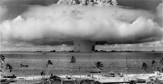 Baker Explosion Operation Crossroads Marshall Islands
