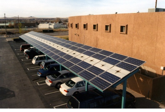 Navajo solar carport US DOE