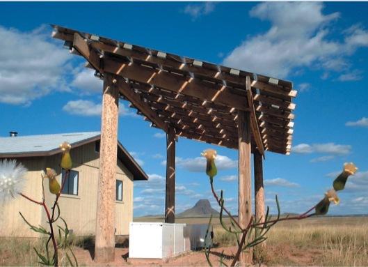 Solar array Navajo home US DOE