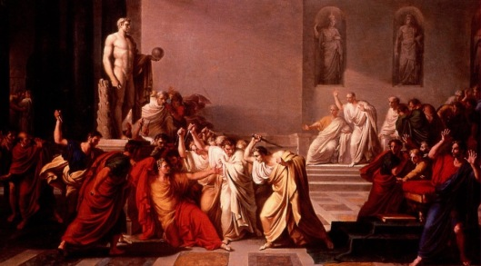 The Death of Julius Caesar by Vincenzo Camuccini