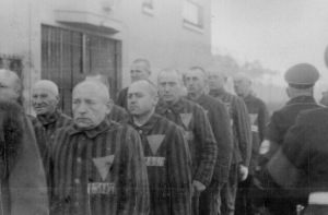 Prisoners in Sachsenhausen, 19 December 1938, US National Archives