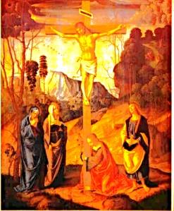 Jesus Nuclear crucifixion