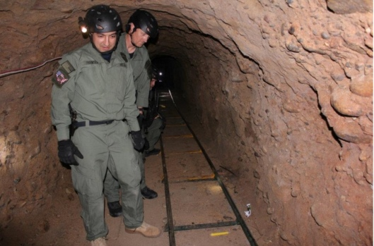 U.S. Immigration and Customs Enforcement, April 5, 2012 San Diego tunnel to smuggle drugs discovered on US-Mexico border