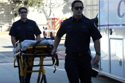 131114-M-PH080-014.JPG Photo By: Cpl. Brianna Christensen Gurney emergency stretcher