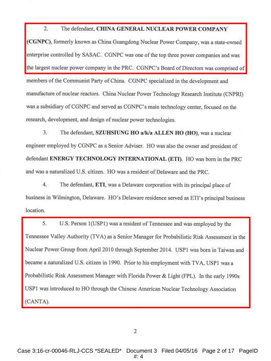 USDOJ Indictment China, TVA and more April 2016, p. 2