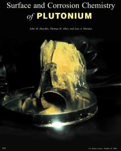 LANL corrosion plutonium