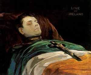 Michael Collins Love of Ireland Lavery 1922