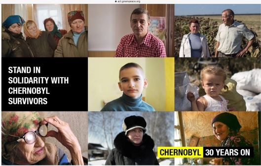 Greenpeace Solidarity with Chernobyl Survivors