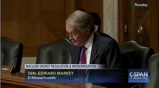 Ed Markey US Senate Nuclear Hearing 21 April 2016