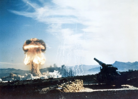 Atomic Annie Cannon Nuclear Bomb Grable