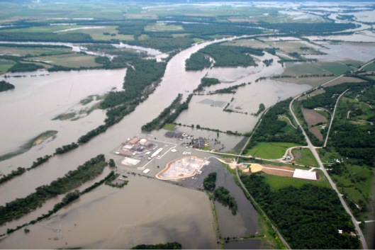 16 June 2011, US Army Corps of Engineers Fort Calhoun Reactor Flooding