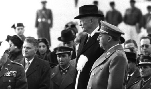 Franco and Eisenhower, 1959