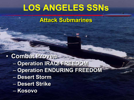 Los Angeles Class Attack Submarines