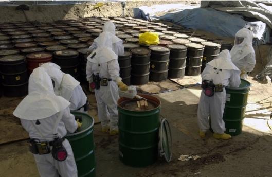 Hanford transuranic waste buried testing