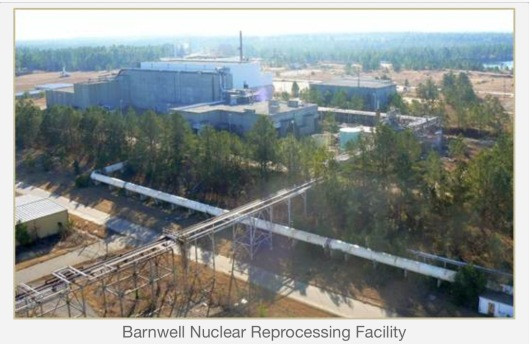 Barnwell Nuclear Reprocessing Facility