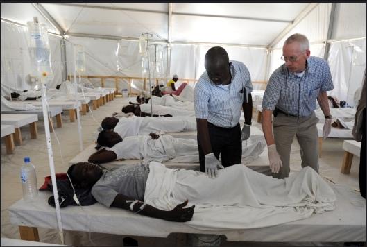 Haiti Cholera US AID