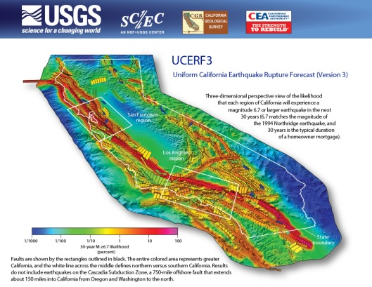 USGS UCERF 3 excludes Cascadia