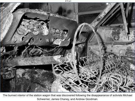 Mississippi Burning car FBI