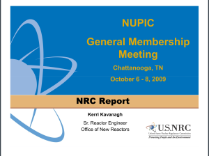 NRC report Kavanaugh 2009