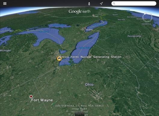 Fermi on Great Lakes