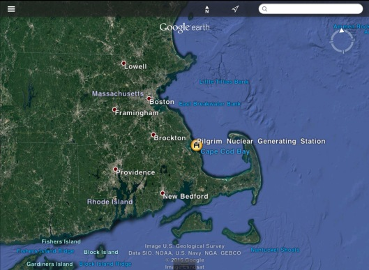 Pilgrim NPS Cape Cod map