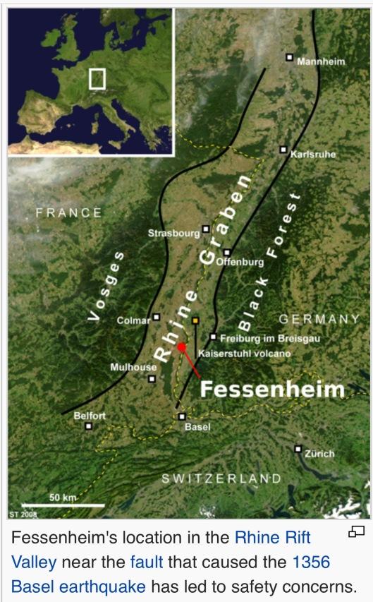 Fessenheim Rhine Rift