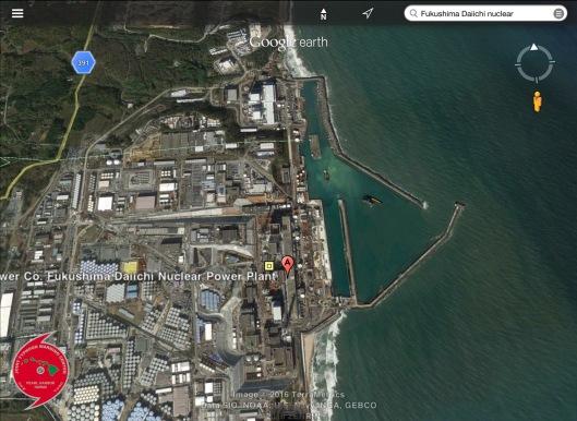 Fukushima Daiichi Port area