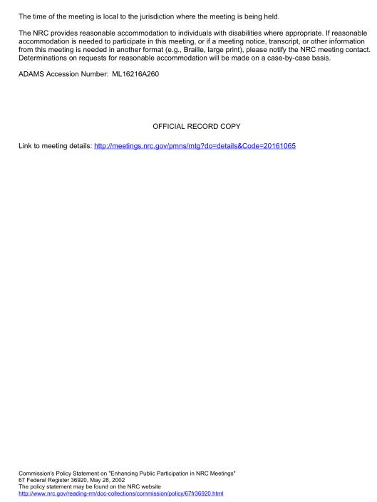 ML16216A260 ISL Rad Protection Meeting Sept. 7th, p. 3