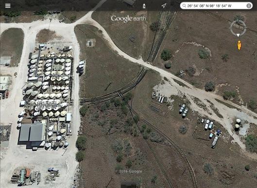Alta Mesa Uranium Mine ISL piping 1
