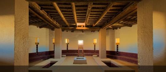 Reconstruction of Aztec Kiva NPS NM