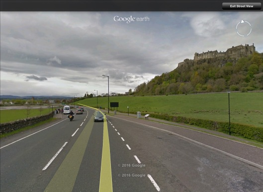 Stirling Castle Streetview