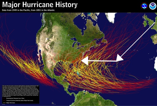 Major hurricanes shipment from Europe to SRS
