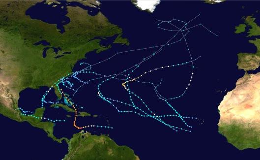 2016 Hurricanes Atlantic